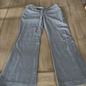 Loft light gray trousers